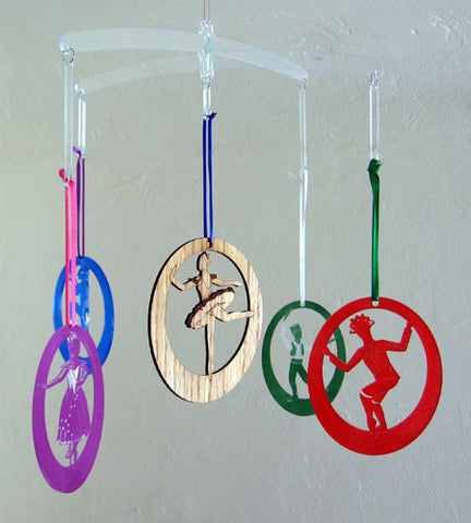 Ornament Mobile - Ballet Gift Shop
