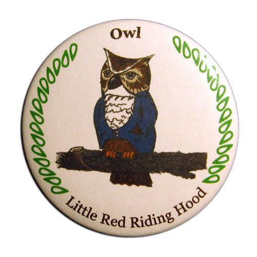 Owl Button / Magnet