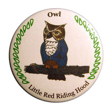 Load image into Gallery viewer, Owl Button / Magnet - Ballet Gift Shop