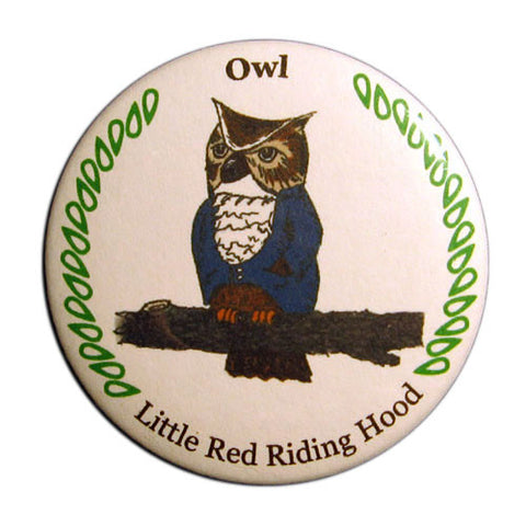 Owl Button / Magnet - Ballet Gift Shop