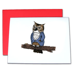 Owl Note Cards - Ballet Gift Shop