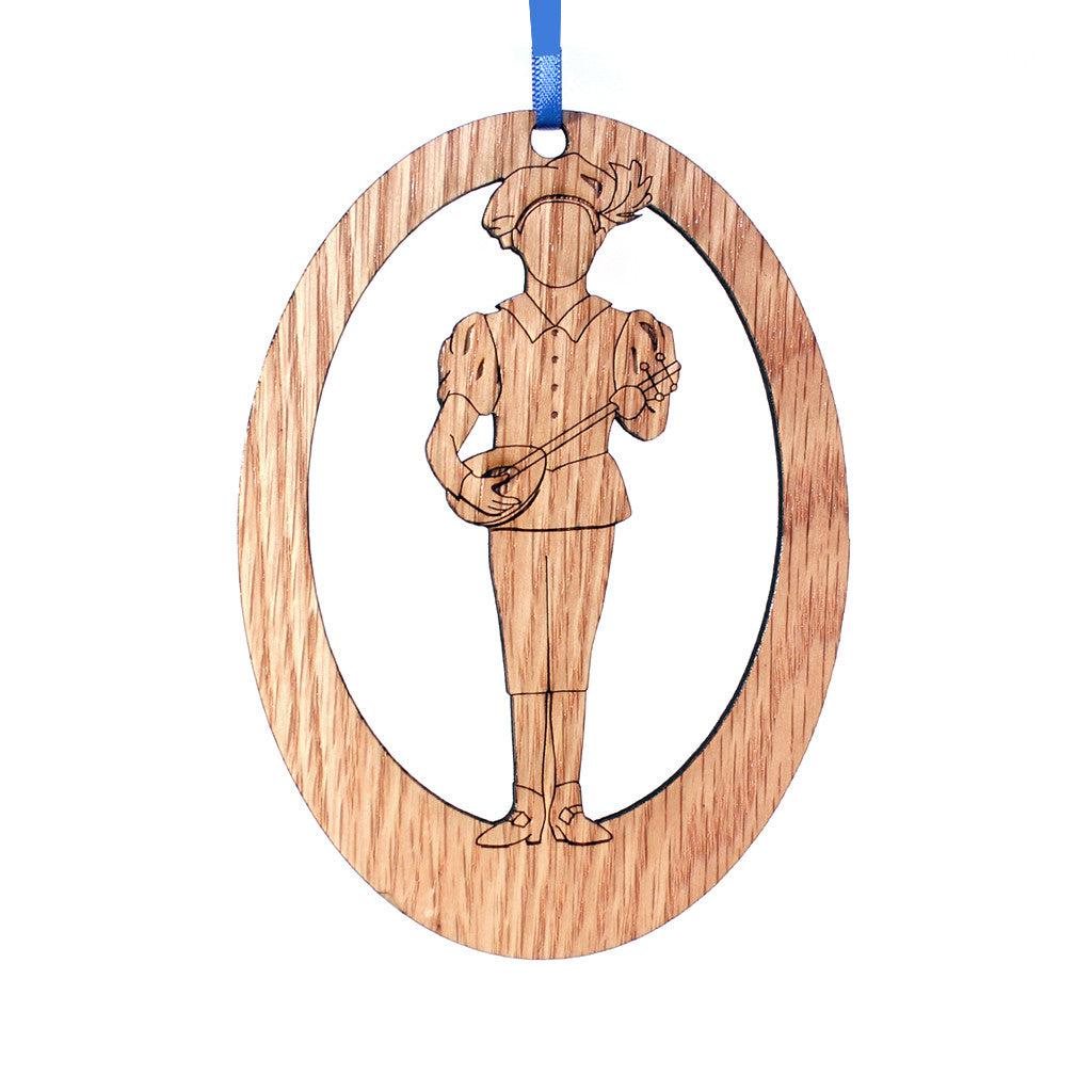 Page Laser-Etched Ornament - Ballet Gift Shop