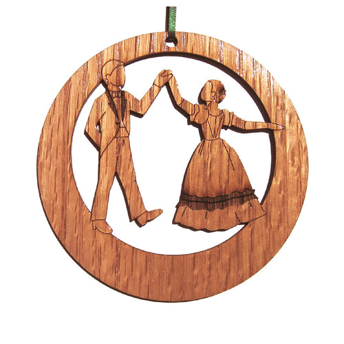 Parents at the Party Laser-Etched Ornament - Ballet Gift Shop