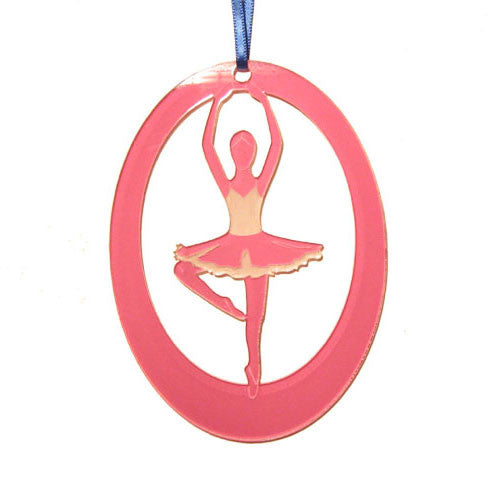 Passe Laser-Etched Ornament - Ballet Gift Shop