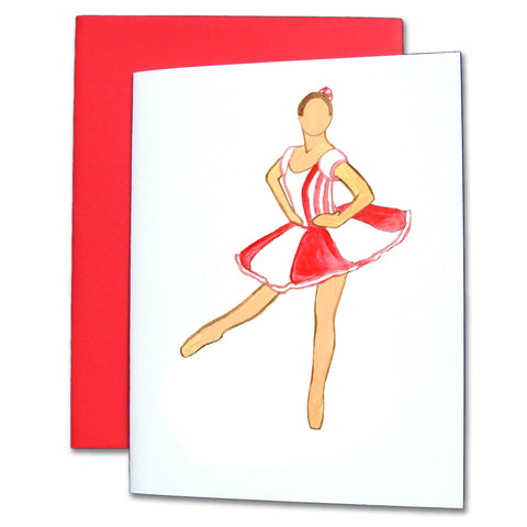 Peppermint Soloist Note Cards