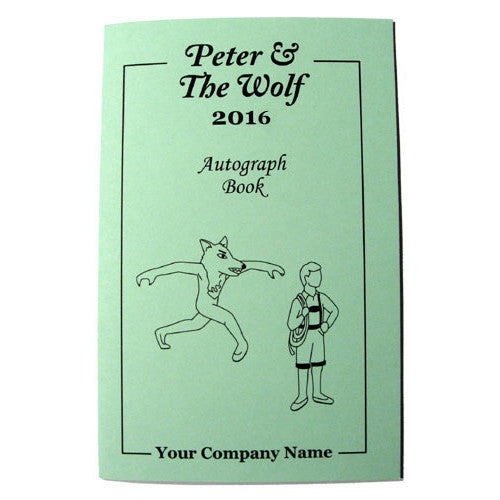 Peter & The Wolf Autograph Book - Ballet Gift Shop