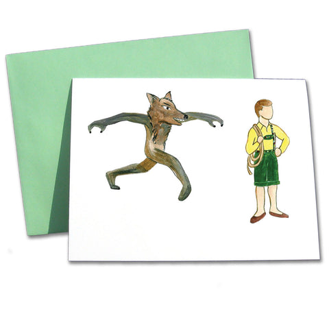 Peter & The Wolf Note Cards