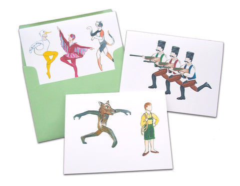 Peter & The Wolf Assorted Note Card Set