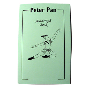 Peter Pan Autograph Book - Ballet Gift Shop