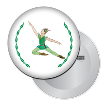 Load image into Gallery viewer, Peter Pan Button/Magnet/Mirror