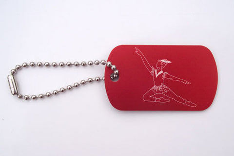 Peter Pan Dance Bag Tag