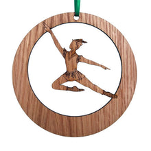 Load image into Gallery viewer, Peter Pan Laser-Etched Ornament - Ballet Gift Shop