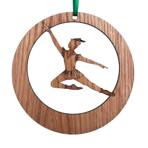 Peter Pan Laser-Etched Ornament - Ballet Gift Shop