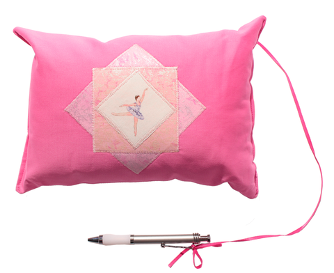 8x10 Patch Autograph Pillow