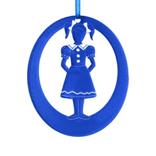 Load image into Gallery viewer, Polichinelle Girl Laser-Etched Ornament - Ballet Gift Shop