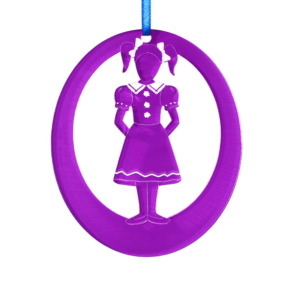 Polichinelle Girl Laser-Etched Ornament - Ballet Gift Shop