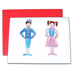 Polichinelle Children Note Cards - Ballet Gift Shop