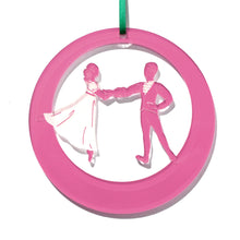 Load image into Gallery viewer, Clara & Prince Pas de Deux Laser-Etched Ornament - Ballet Gift Shop