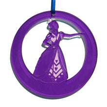 Load image into Gallery viewer, Queen of Hearts Laser-Etched Ornament