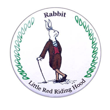 Rabbit Button / Magnet - Ballet Gift Shop