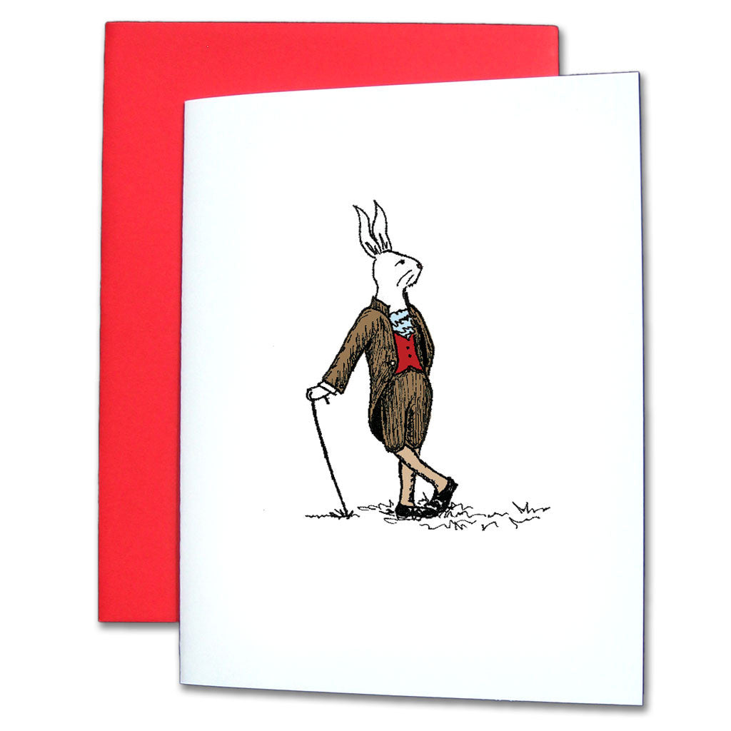 Rabbit Note Cards - Ballet Gift Shop