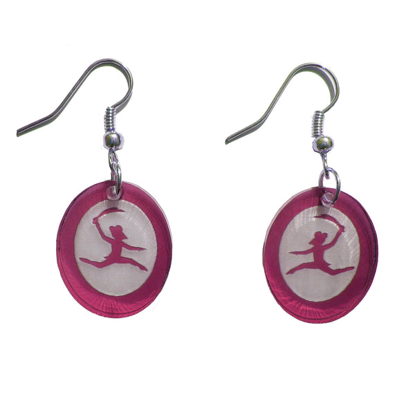 Rat King Silhouette Earrings - Ballet Gift Shop