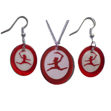 Load image into Gallery viewer, Rat King Silhouette Earrings - Ballet Gift Shop