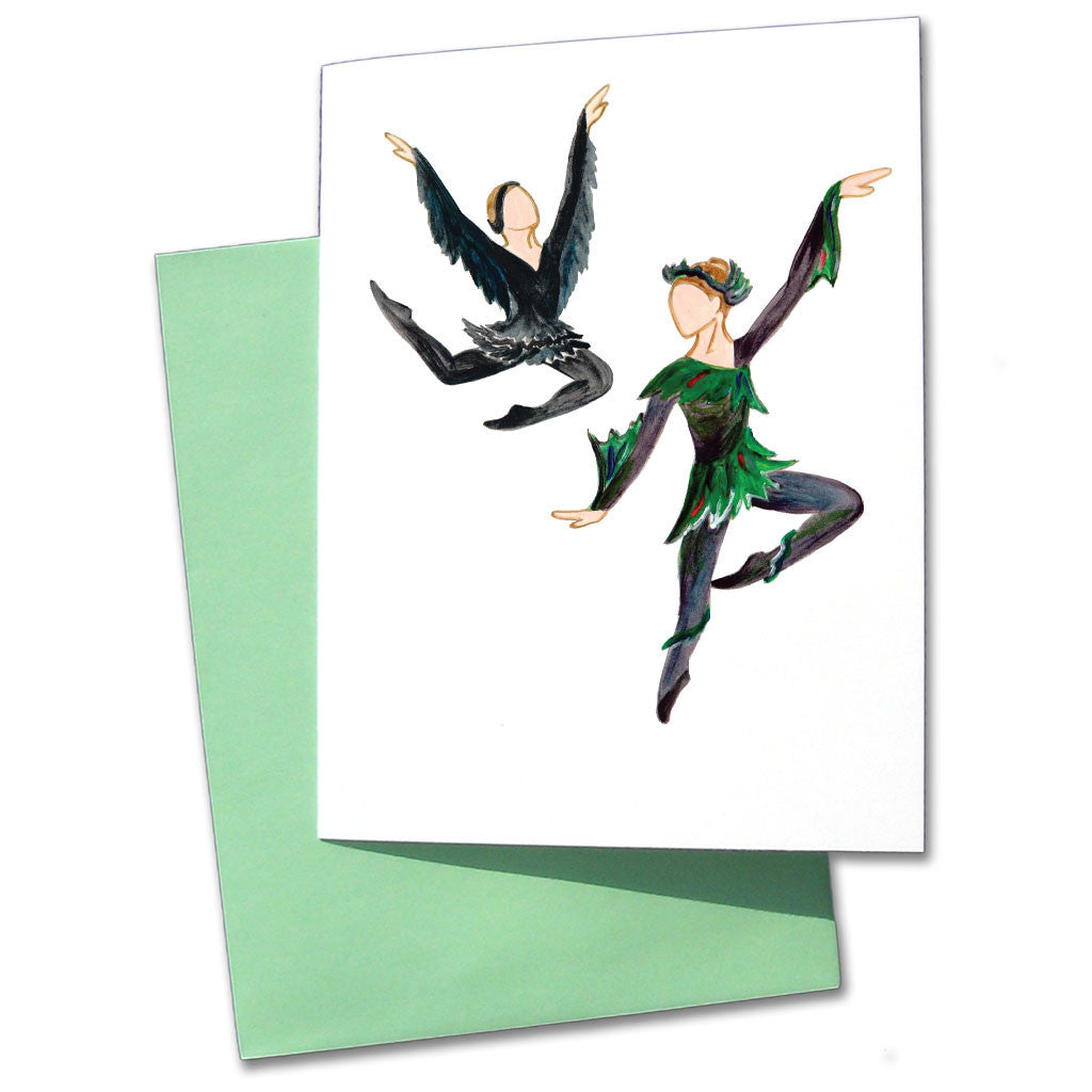 Raven & Night Creature Note Cards - Ballet Gift Shop