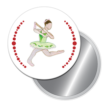 Load image into Gallery viewer, Reed Flute Dancer Button/Magnet/Mirror