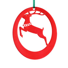Load image into Gallery viewer, Reindeer Laser-Etched Ornament - Ballet Gift Shop