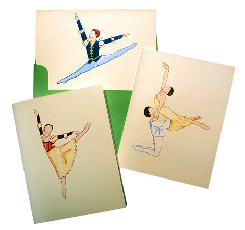 Romeo & Juliet Assorted Note Card Set - Ballet Gift Shop