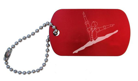Romeo & Juliet Dance Bag Tag (Choose from 3 designs)