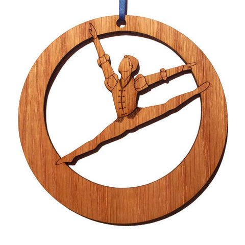 Romeo Laser-Etched Ornament - Ballet Gift Shop