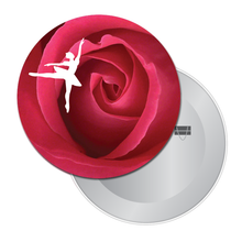 Load image into Gallery viewer, Rose Ballet Travel Mirror - Ballet Gift Shop