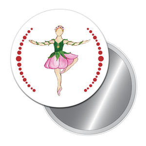 Rose Dancer Button/Magnet/Mirror