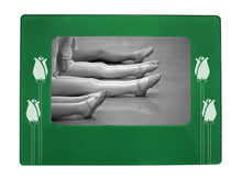 "Load image into Gallery viewer, Long Stem Roses 4"" x 6"" Magnetic Photo Frame (Horizontal/Landscape) - Ballet Gift Shop"