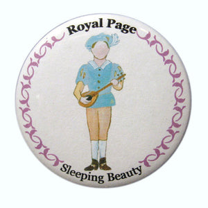 Royal Page Button / Magnet - Ballet Gift Shop