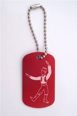 Russian Trepak Dance Bag Tag - Ballet Gift Shop