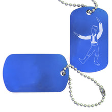 Load image into Gallery viewer, Russian Trepak Dance Bag Tag - Ballet Gift Shop