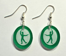 Load image into Gallery viewer, Russian Trepak Silhouette Earrings - Ballet Gift Shop
