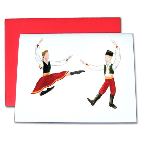 Russian Trepak Note Cards