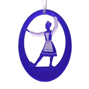Russian Princess Laser-Etched Ornament - Ballet Gift Shop