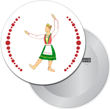 Load image into Gallery viewer, Russian Princess Button/Magnet/Mirror