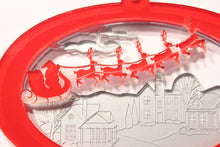 Load image into Gallery viewer, Santa's Sleigh Layered Ornament - Ballet Gift Shop
