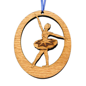 Sapphire Fairy Laser-Etched Ornament - Ballet Gift Shop