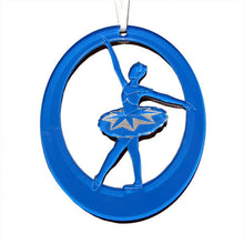 Load image into Gallery viewer, Sapphire Fairy Laser-Etched Ornament - Ballet Gift Shop