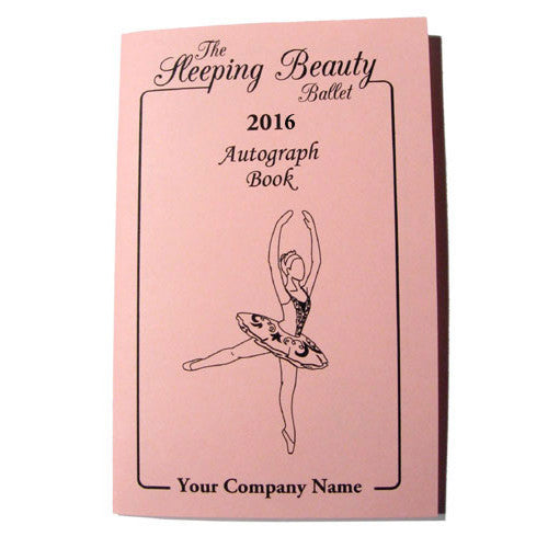 Sleeping Beauty Autograph Book - Ballet Gift Shop