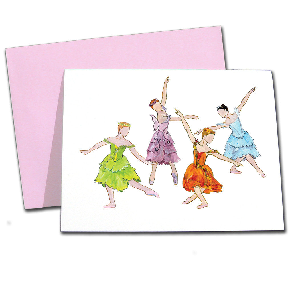 Season Fairies Note Cards - Ballet Gift Shop