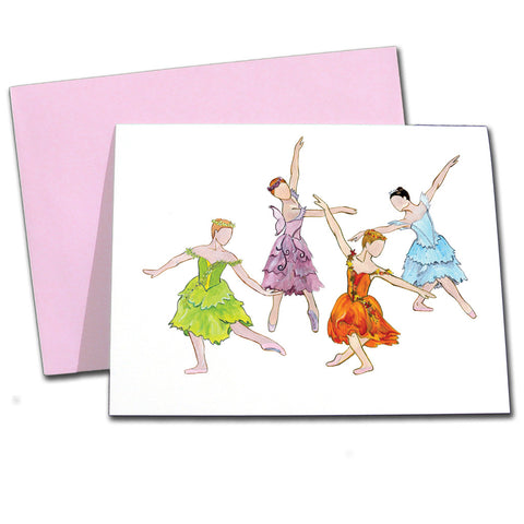 Season Fairies Note Cards