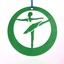 Load image into Gallery viewer, Second Arabesque Laser-Etched Ornament - Ballet Gift Shop